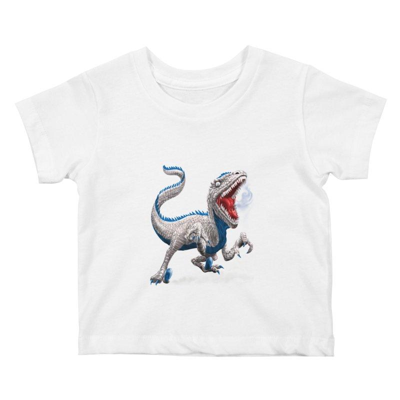 Patriosaur Kids Baby T-Shirt by Ayota Illustration Shop