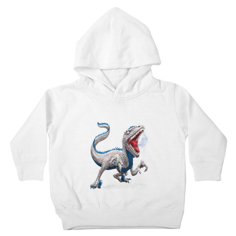 Patriosaur Kids Toddler Pullover Hoody by Ayota Illustration Shop