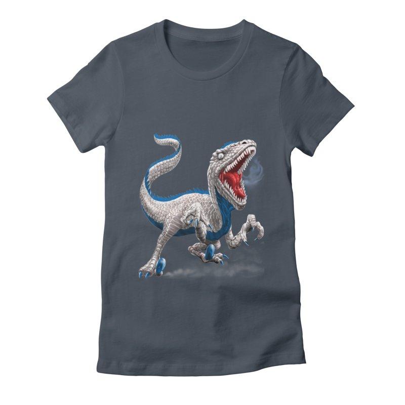 Patriosaur Women's T-Shirt by Ayota Illustration Shop