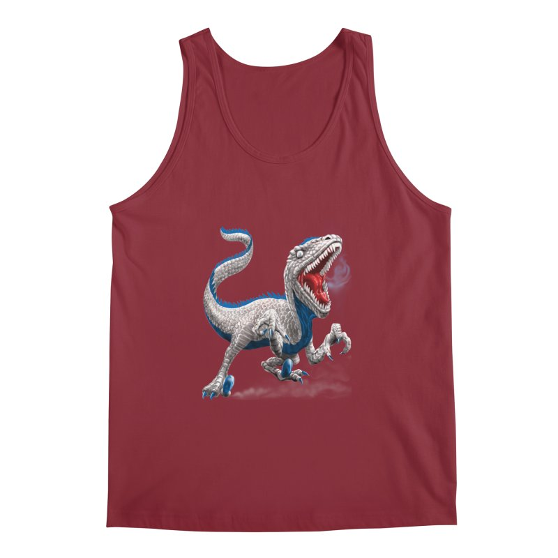 Patriosaur Men's Regular Tank by Ayota Illustration Shop