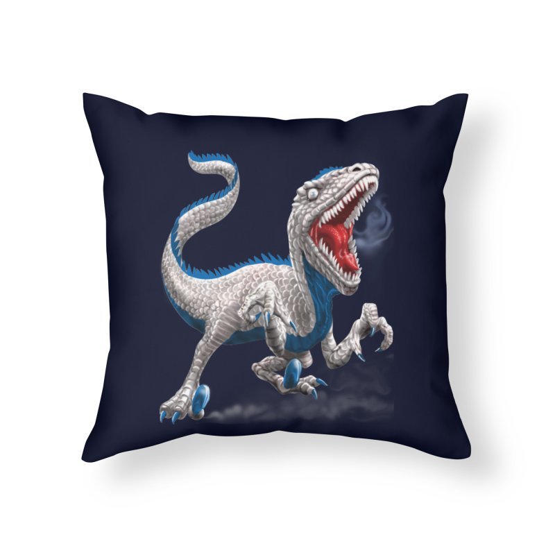 Patriosaur Home Throw Pillow by Ayota Illustration Shop