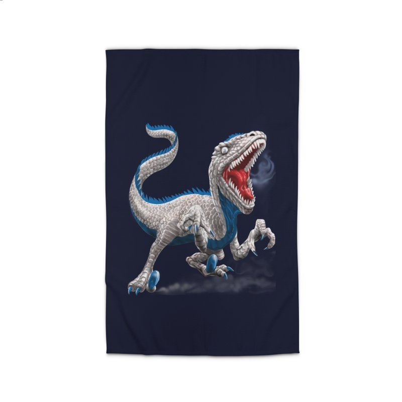 Patriosaur Home Rug by Ayota Illustration Shop