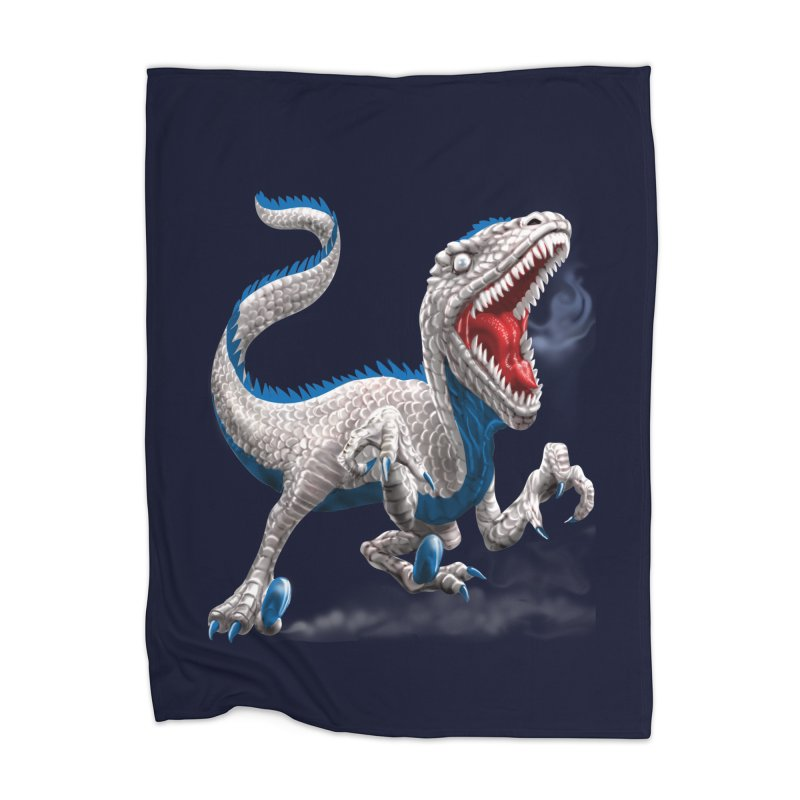 Patriosaur Home Blanket by Ayota Illustration Shop