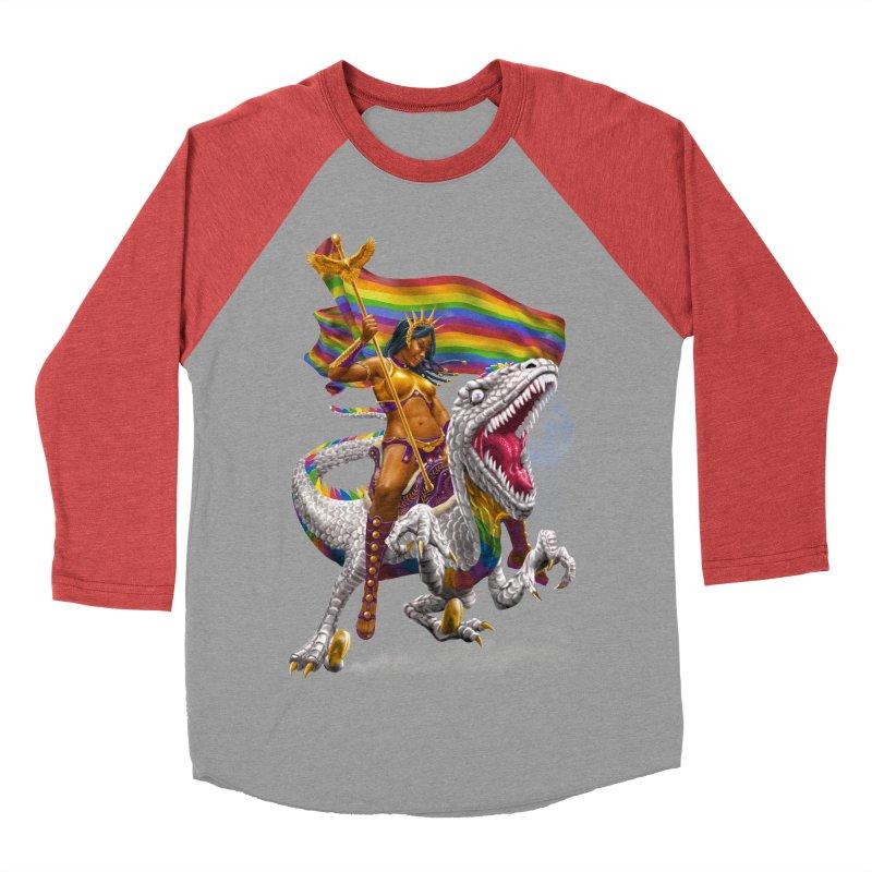 Liberty Rainbow Raptor Women's Longsleeve T-Shirt by Ayota Illustration Shop