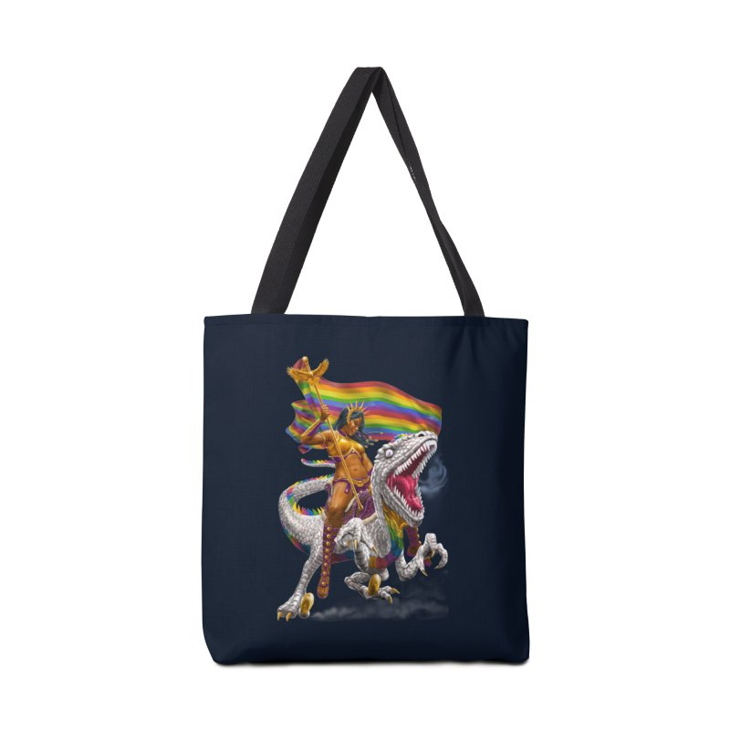 Liberty Rainbow Raptor Accessories Bag by Ayota Illustration Shop