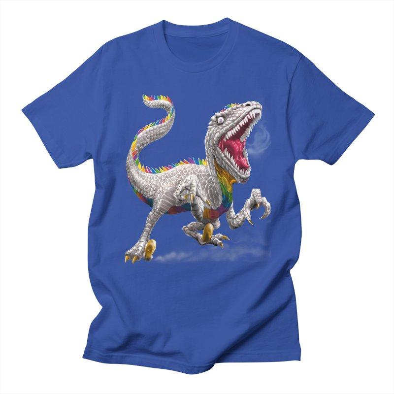 Rainbow Raptor Women's Unisex T-Shirt by Ayota Illustration Shop
