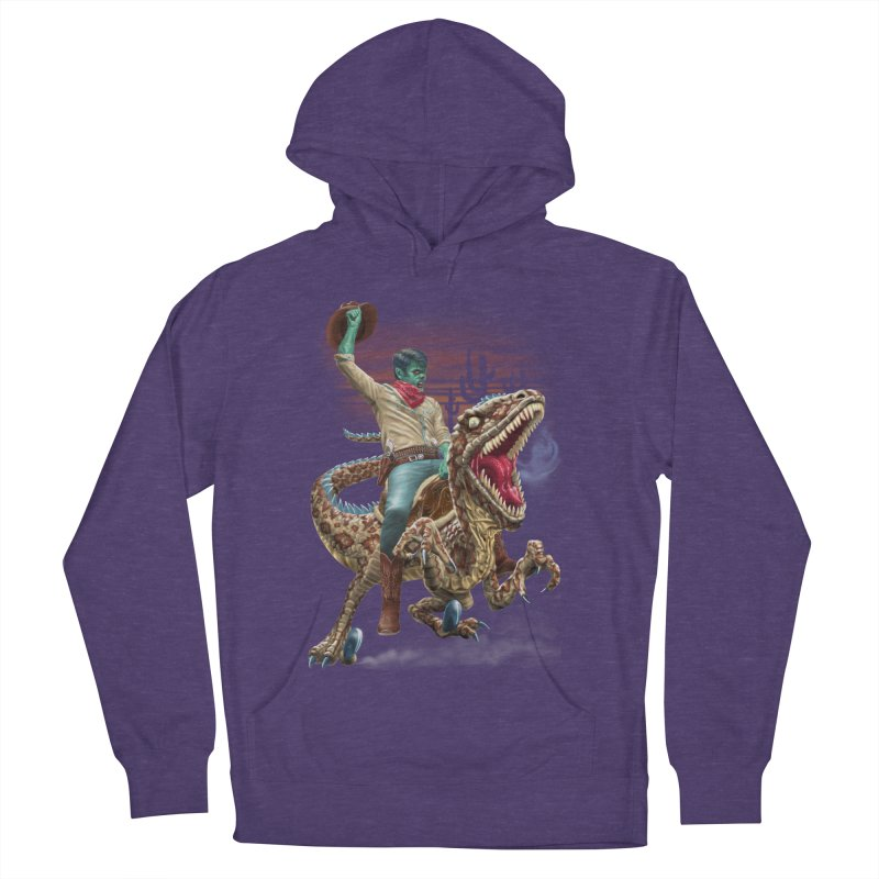 Zombie Rodeo Raptor Women's Pullover Hoody by Ayota Illustration Shop