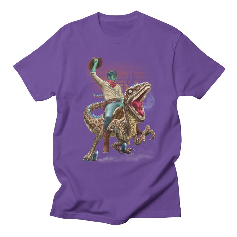 Zombie Rodeo Raptor Women's Unisex T-Shirt by Ayota Illustration Shop
