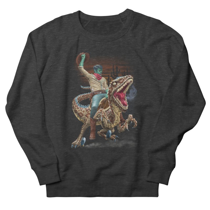 Zombie Rodeo Raptor Women's Sweatshirt by Ayota Illustration Shop