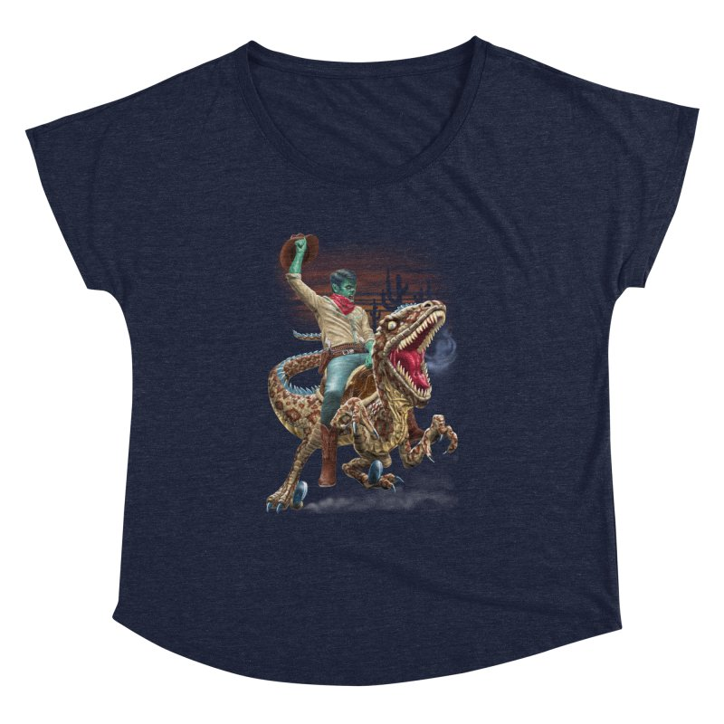 Zombie Rodeo Raptor Women's Dolman by Ayota Illustration Shop