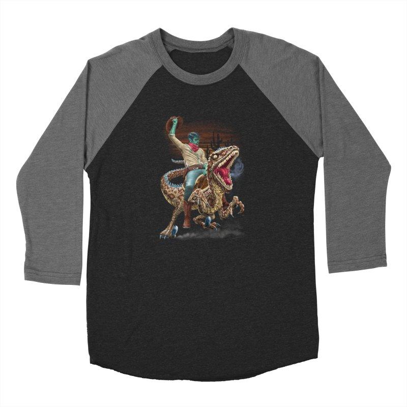 Zombie Rodeo Raptor Men's Longsleeve T-Shirt by Ayota Illustration Shop