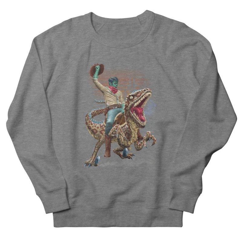 Zombie Rodeo Raptor Men's Sweatshirt by Ayota Illustration Shop
