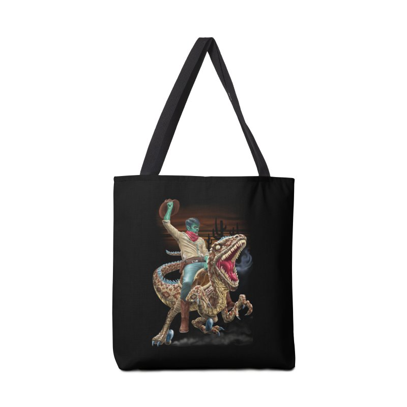Zombie Rodeo Raptor Accessories Bag by Ayota Illustration Shop