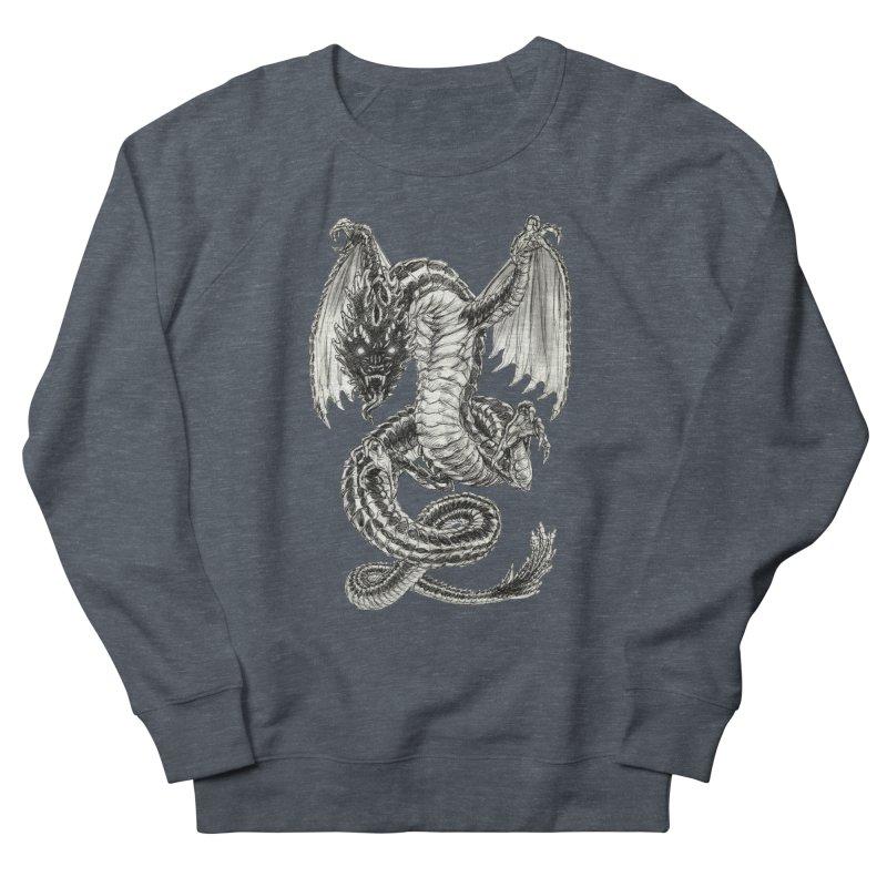 Black Dragon Women's Sweatshirt by Ayota Illustration Shop