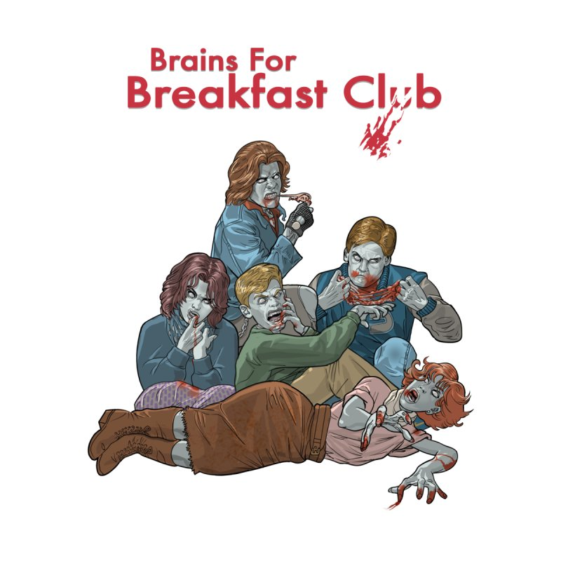 Brains for Breakfast Club   by Ayota Illustration Shop