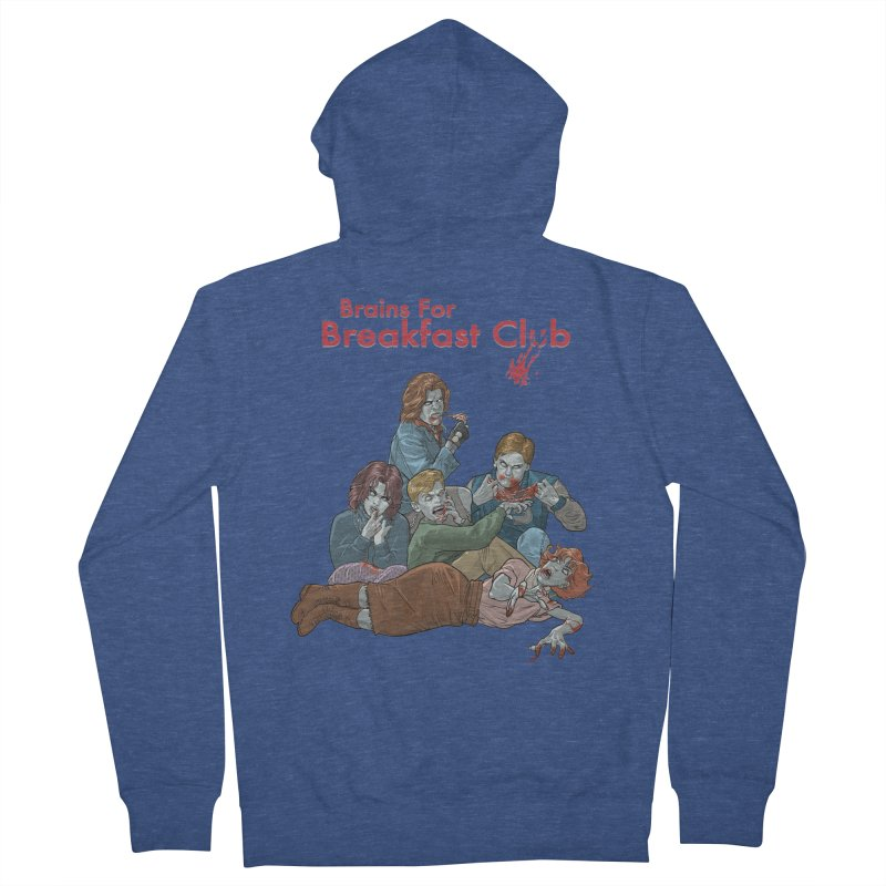 Brains for Breakfast Club Men's Zip-Up Hoody by Ayota Illustration Shop