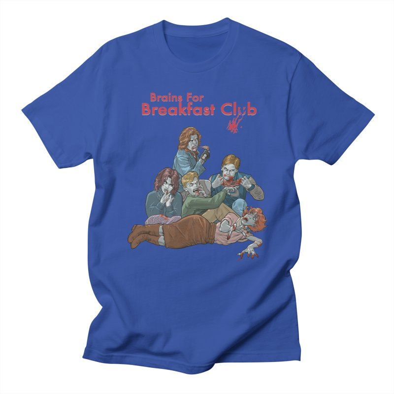 Brains for Breakfast Club Men's T-Shirt by Ayota Illustration Shop