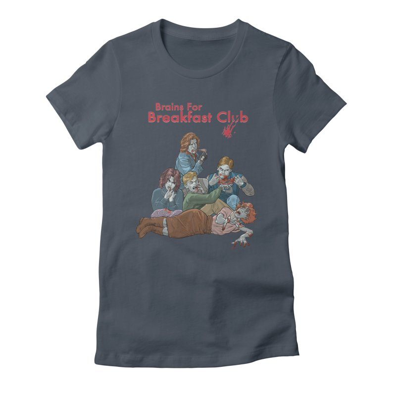 Brains for Breakfast Club Women's T-Shirt by Ayota Illustration Shop