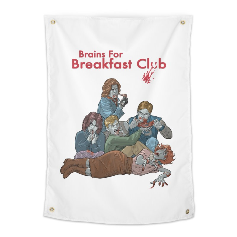 Brains for Breakfast Club Home Tapestry by Ayota Illustration Shop