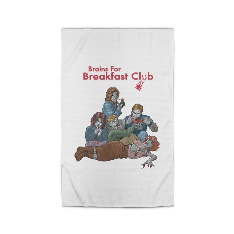 Brains for Breakfast Club Home Rug by Ayota Illustration Shop