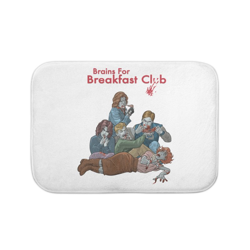 Brains for Breakfast Club Home Bath Mat by Ayota Illustration Shop