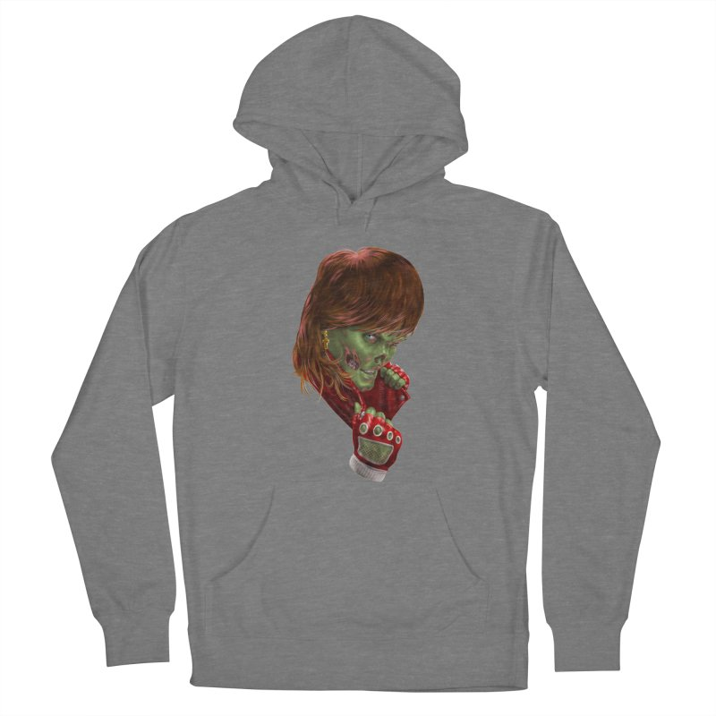 Didn't Die in '85 (eighties zombie) Women's Pullover Hoody by Ayota Illustration Shop
