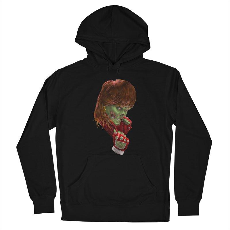 Didn't Die in '85 (eighties zombie) Women's Pullover Hoody by Ayota Illustration Shop