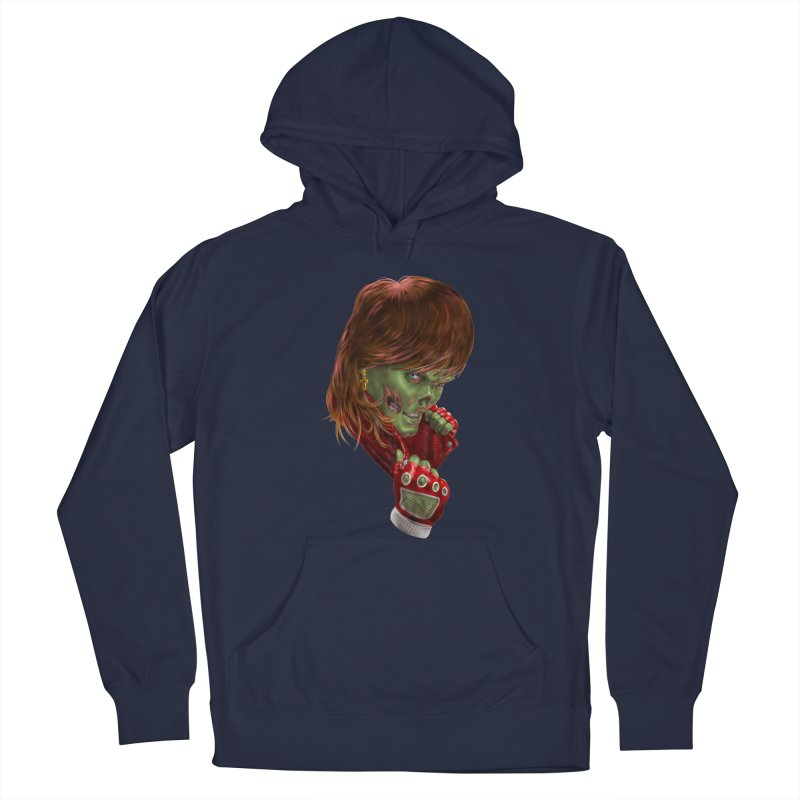 Didn't Die in '85 (eighties zombie) Men's Pullover Hoody by Ayota Illustration Shop