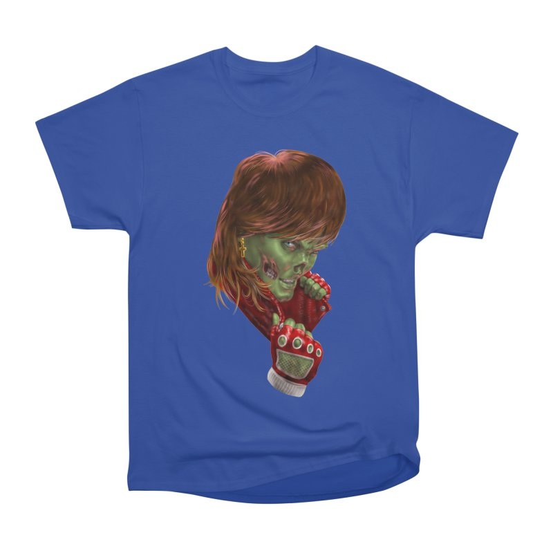 Didn't Die in '85 (eighties zombie) Women's Heavyweight Unisex T-Shirt by Ayota Illustration Shop