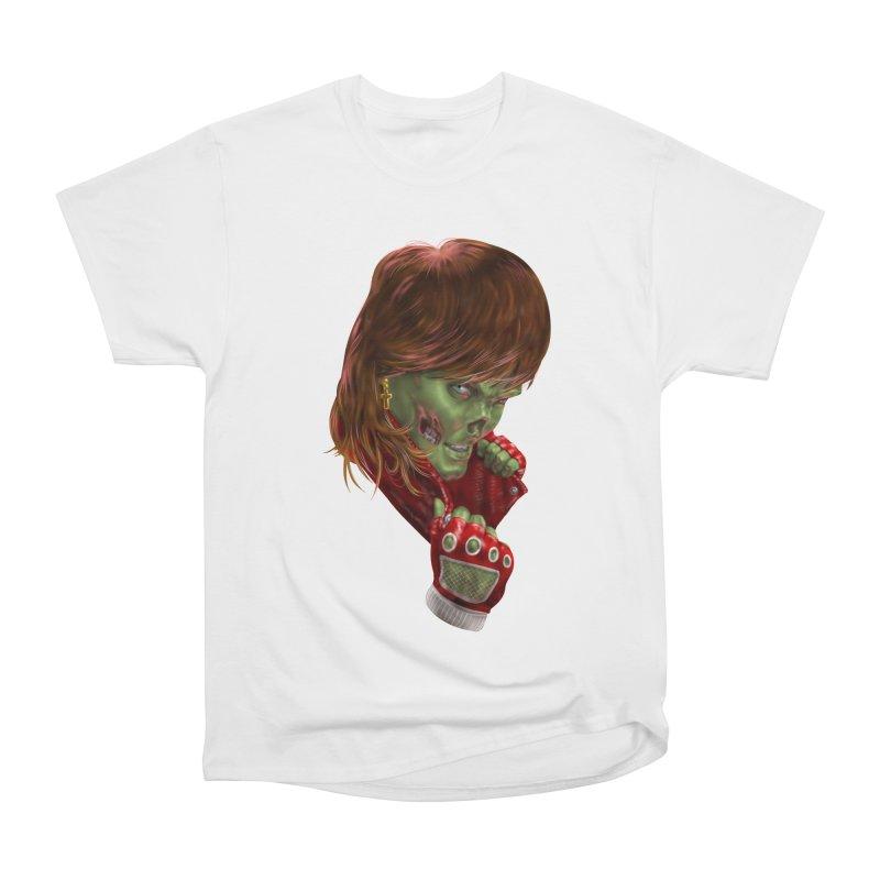 Didn't Die in '85 (eighties zombie) Men's Heavyweight T-Shirt by Ayota Illustration Shop