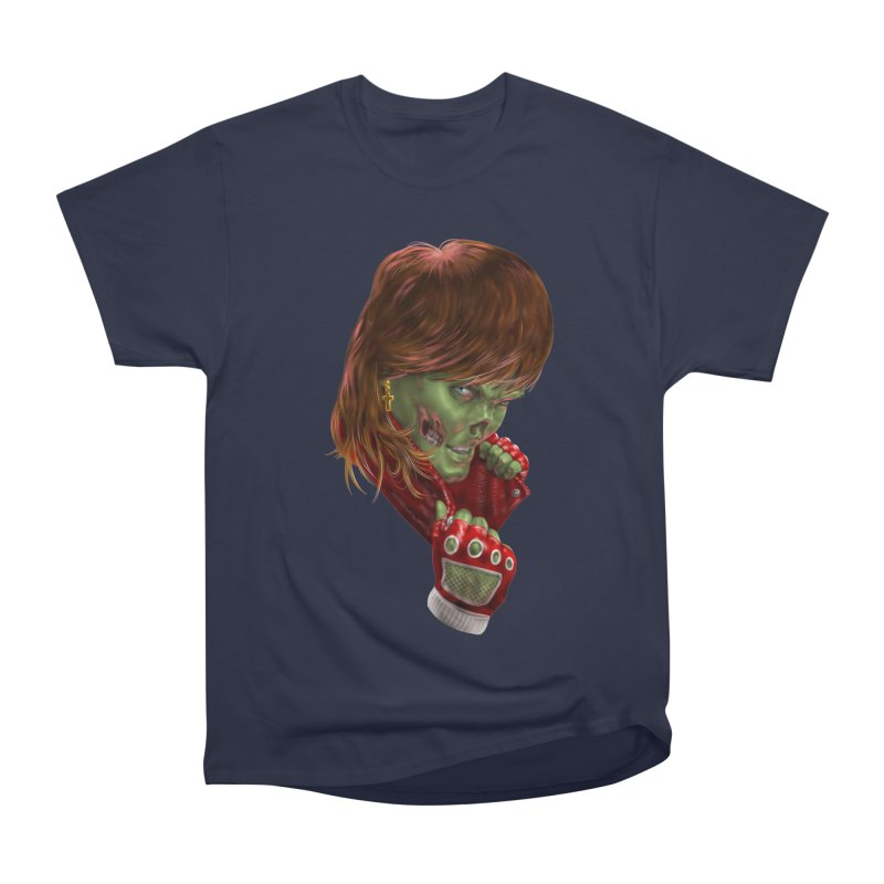 Didn't Die in '85 (eighties zombie) Men's Heavyweight T-Shirt by Ayota Illustration Shop