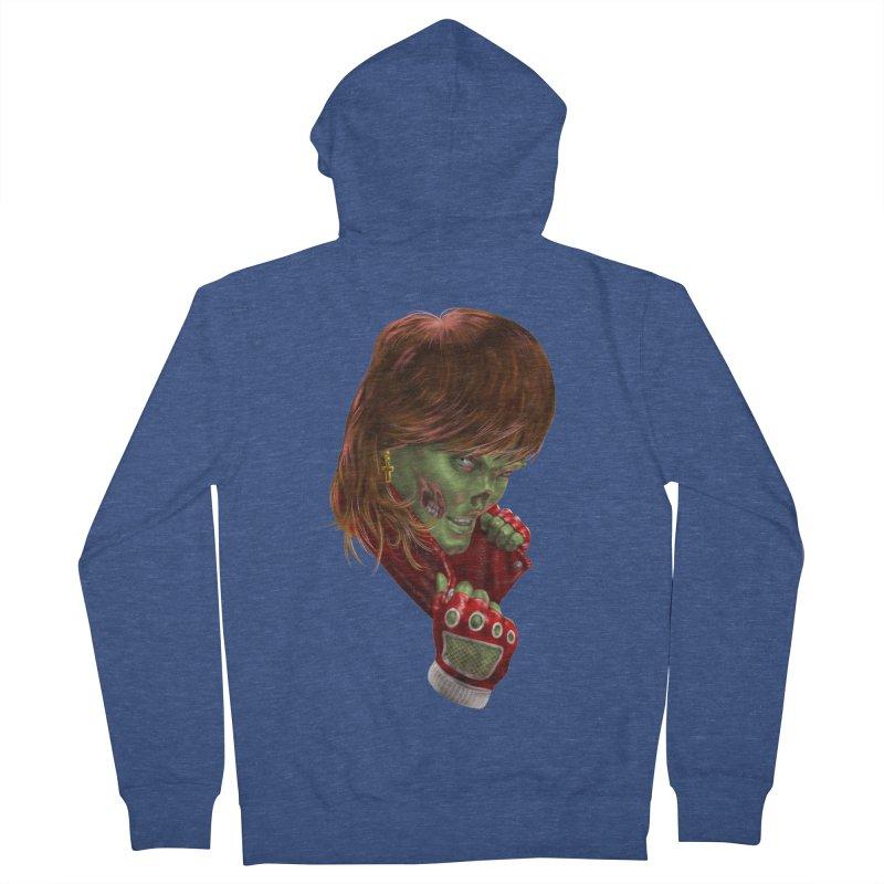 Didn't Die in '85 (eighties zombie) Women's Zip-Up Hoody by Ayota Illustration Shop