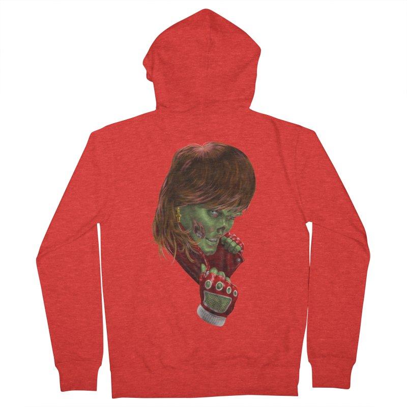 Didn't Die in '85 (eighties zombie) Men's Zip-Up Hoody by Ayota Illustration Shop