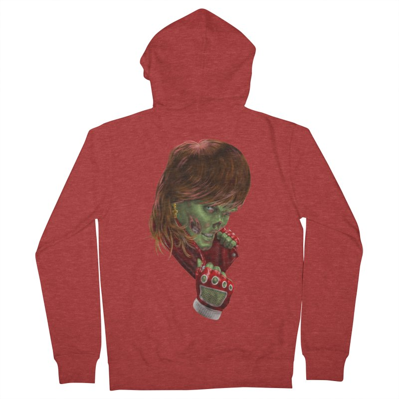 Didn't Die in '85 (eighties zombie) Men's Zip-Up Hoody by Ayota Illustration Shop