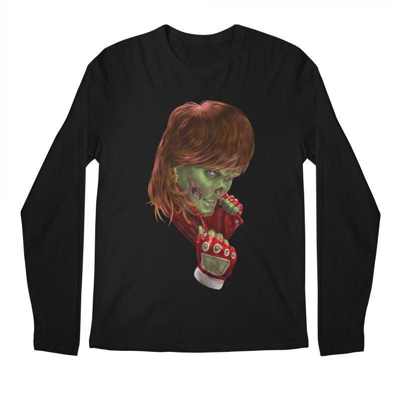 Didn't Die in '85 (eighties zombie) Men's Longsleeve T-Shirt by Ayota Illustration Shop
