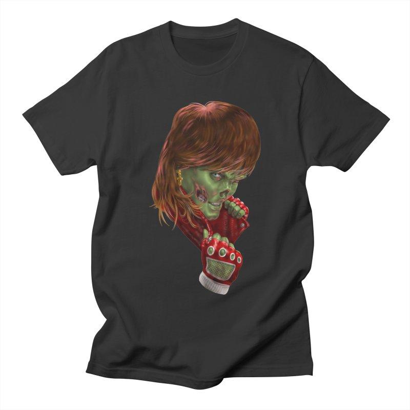 Didn't Die in '85 (eighties zombie) Women's Regular Unisex T-Shirt by Ayota Illustration Shop