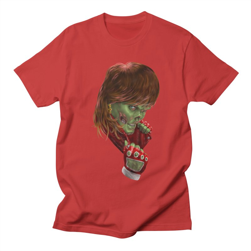 Didn't Die in '85 (eighties zombie) Men's T-Shirt by Ayota Illustration Shop