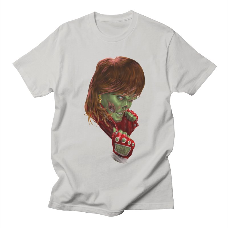 Didn't Die in '85 (eighties zombie) Men's Regular T-Shirt by Ayota Illustration Shop