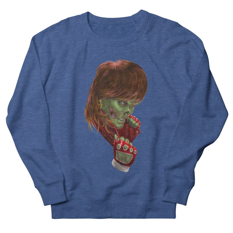 Didn't Die in '85 (eighties zombie) Women's Sweatshirt by Ayota Illustration Shop