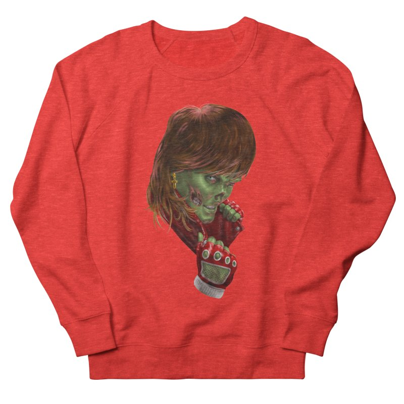 Didn't Die in '85 (eighties zombie) Women's Sweatshirt by Ayota Illustration Shop
