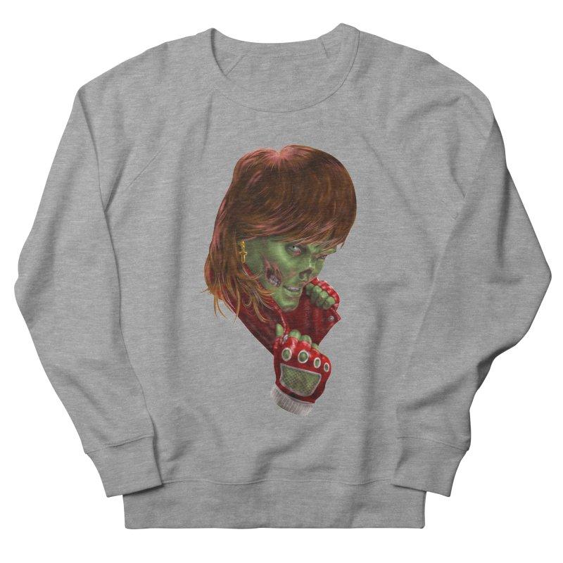 Didn't Die in '85 (eighties zombie) Women's French Terry Sweatshirt by Ayota Illustration Shop