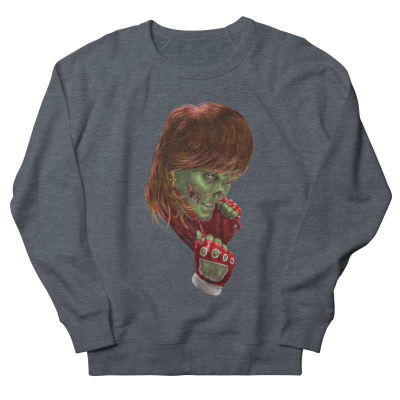 Didn't Die in '85 (eighties zombie) Men's Sweatshirt by Ayota Illustration Shop