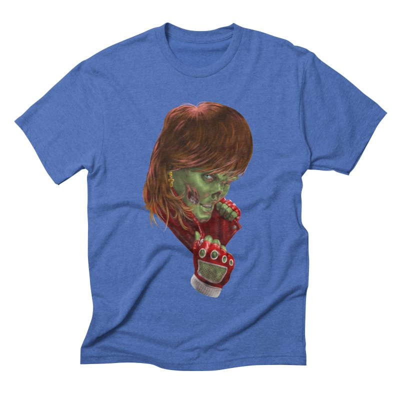 Didn't Die in '85 (eighties zombie) Men's T-Shirt by Ayota Illustration Shop