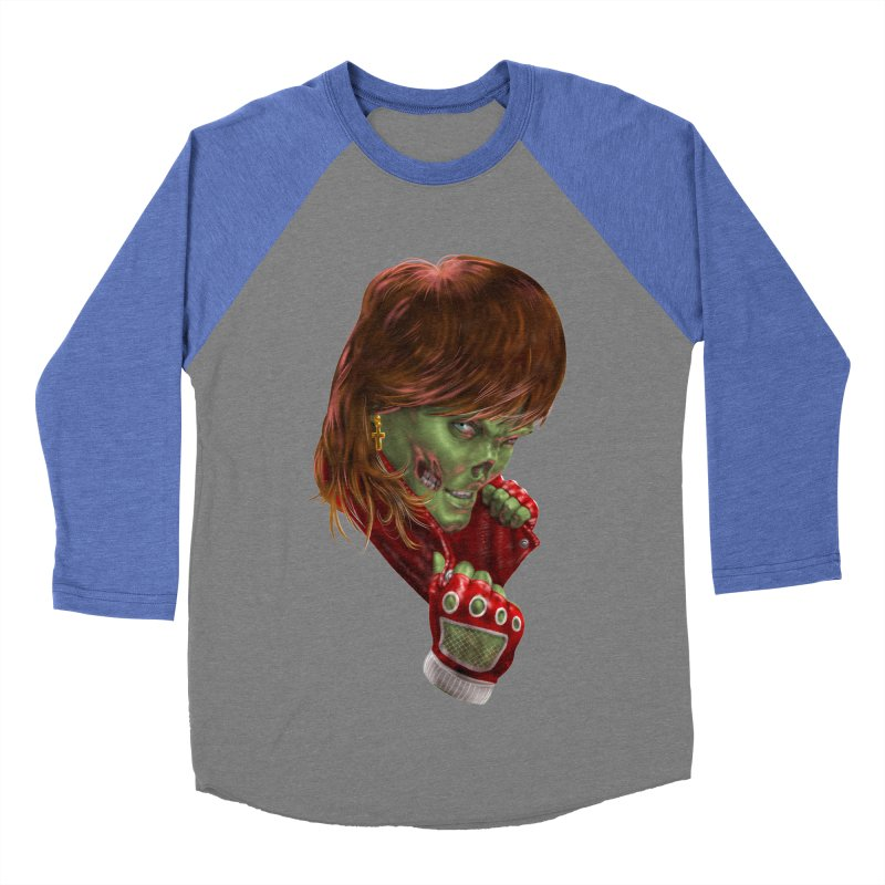 Didn't Die in '85 (eighties zombie) Women's Baseball Triblend Longsleeve T-Shirt by Ayota Illustration Shop