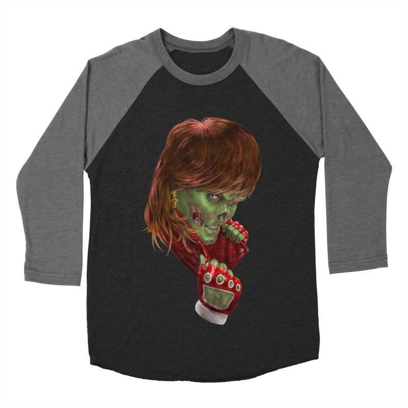 Didn't Die in '85 (eighties zombie) Women's Baseball Triblend T-Shirt by Ayota Illustration Shop