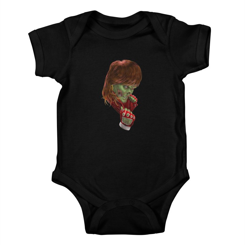 Didn't Die in '85 (eighties zombie) Kids Baby Bodysuit by Ayota Illustration Shop