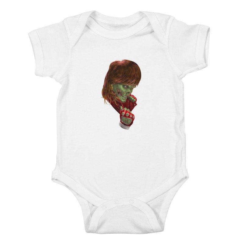 Didn't Die in '85 (eighties zombie) Kids Baby Bodysuit by Ayota Illustration Shop