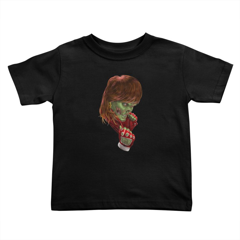 Didn't Die in '85 (eighties zombie) Kids Toddler T-Shirt by Ayota Illustration Shop
