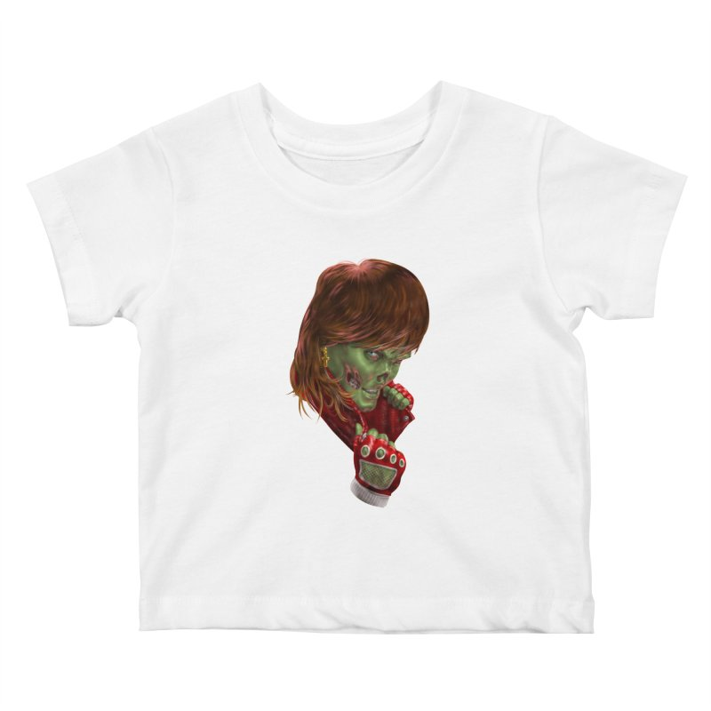 Didn't Die in '85 (eighties zombie) Kids Baby T-Shirt by Ayota Illustration Shop