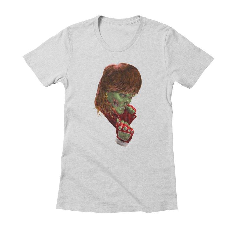 Didn't Die in '85 (eighties zombie) Women's T-Shirt by Ayota Illustration Shop
